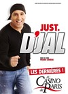 D'jal dans Just D'jal - Casino de Paris
