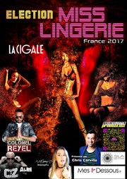 Election Miss Lingerie France 2017 La Cigale Affiche