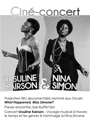 Ciné-concert Ursuline Kairson & Nina Simone Dorothy's Gallery - American Center for the Arts Affiche