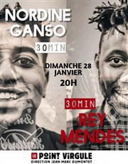 Nordine et Rey Le Point Virgule Affiche