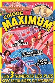 Le Cirque Maximum dans happy birthday... | - Dieppe Chapiteau Maximum à Dieppe Affiche
