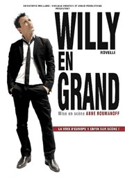 Willy Rovelli dans Willy en Grand Salle du Pré-Poulain Affiche