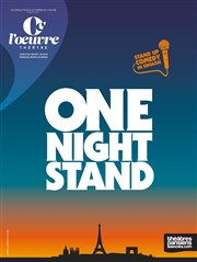 One night stand Théâtre de l'Oeuvre Affiche