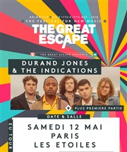 The Great Escape Festival presents Durand Jones and the Indications Les Etoiles Affiche
