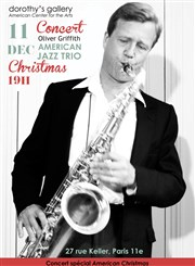 Soirée Noël avec Oliver Griffith & the American Jazz Trio Dorothy's Gallery - American Center for the Arts Affiche