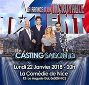 La France a un incroyable talent | Casting Saison 13 La Comédie de Nice Affiche