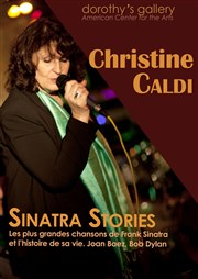 """Sinatra Stories"" de Christine Caldi Dorothy's Gallery - American Center for the Arts Affiche"