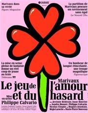 Le jeu de l'amour et du hasard Théâtre Le Petit Louvre - Chapelle des Templiers Affiche