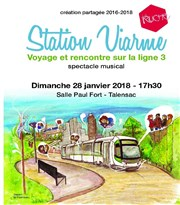 Station Viarme Salle Paul Fort Affiche