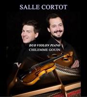 duo chilemme gouin violon piano lancement du cd canal ravel salle cortot billetreduc