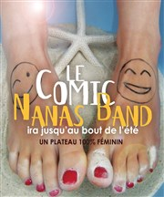 Le Comic Nanas Band La Cible Affiche