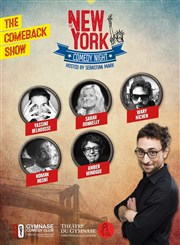 The New York Comedy Night : The comeback show Théâtre du Gymnase Marie-Bell - Grande salle Affiche