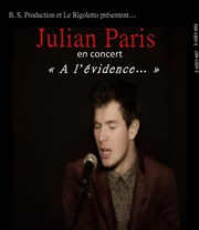 Julian Paris Le Rigoletto Affiche